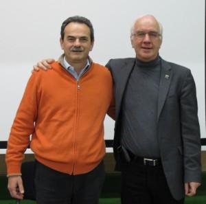 """Armando Pintus e Willem Lammers durante un Corso organizzato da EFT-Italia di """"Logosintesi Avanzata"""""""