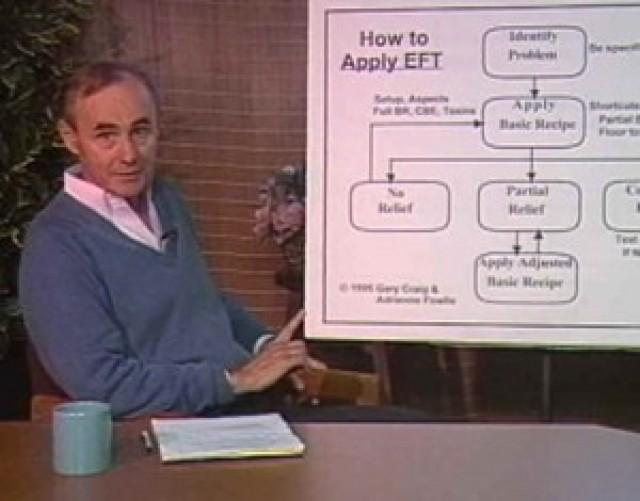 Gary Craig creatore di EFT Emotional Freedom Techniques all'inizio della sua lunga e straordinaria carriera che lo ha portato a rivoluzionare la psicologia energetica